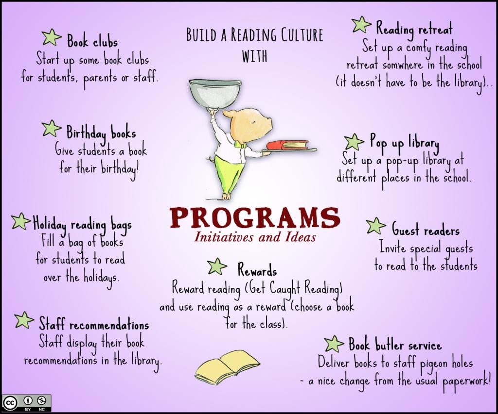 Reading culture PROGRAMS